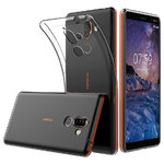 Flexi Slim Crystal Gel Case for Nokia 7 Plus - Clear (Gloss Grip)